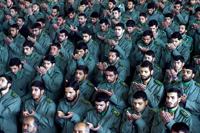 Revolutionary Guards to respond to any attack harshly