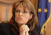 Alaska Governor Sarah Palin: If I die politically, so be it