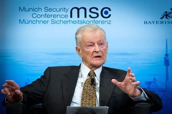 Carter national security adviser Zbigniew Brzezinski