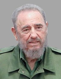 Fidel Castro claims that George W. Bush is waiting to die but cannot kill his ideas