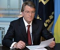 Ukraine's President Viktor Yushchenko visits Slovakia