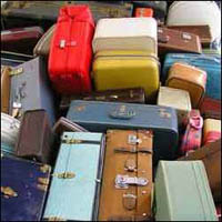 Many pieces of luggage lost in international flights found in pet store trash bin in Houston