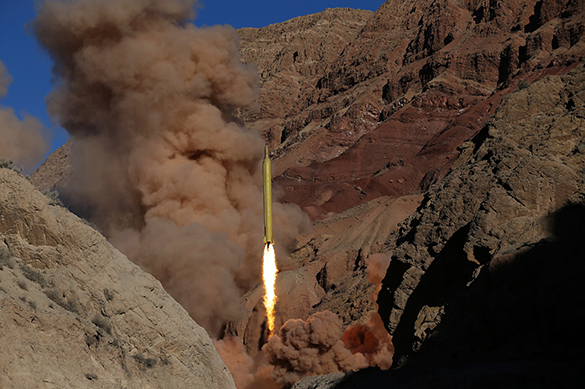 Iran pledges not to refuse from developing ICBMs. 57569.jpeg
