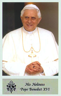 Pope Benedict XVI speaks about economic system, United Nations, charity and abortion