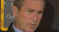 George W. Bush spends weeks figuring out new war plan in Iraq. Way to go.
