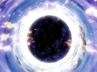 Black hole devours stars for dinner. 45574.jpeg