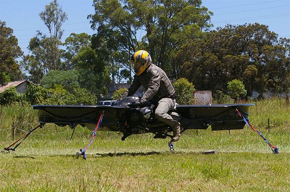 US DoD to develop hoverbikes. Hoverbike