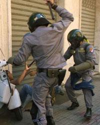 Four violent fans arrested in Rome