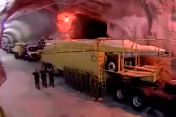 Iran demonstrates secret doomsday weapon. Video. Iran secret missile base