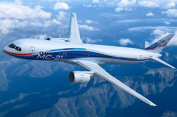 Russia's new MC-21 passenger airliner challenges Boeing and Airbus. 60577.jpeg