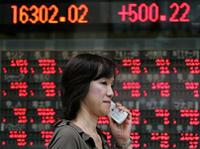 Hong Kong stocks indicate biggest drop in six years