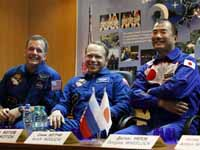 Three More Astronauts Join Space Station Crew