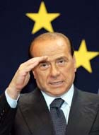 Berlusconi resigns during meeting with Italian president