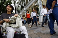 Japanese fans camping out for iPhone 3G launch