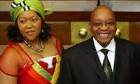 British Queen Welcomes South African President Jacob Zuma
