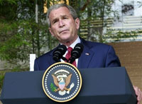 Bush praises his fellow G8 summit leaders