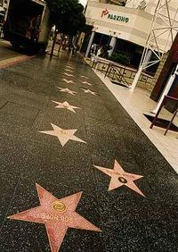 Crews work to fix cracks on Hollywood Walk of Fame before Academy Awards