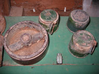 Land mines, bombs found in Sinai desert