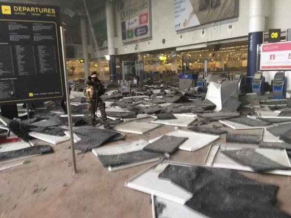 Terror acts in Brussels – only training for terrorists. Brussels