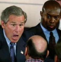 Bush's informality and regular abuses of power to become his habit