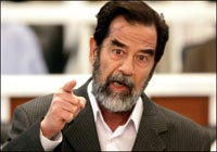 Baath party to retaliate if Saddam Hussein is executed