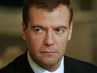 Baby-faced Dmitry Medvedev keeps fish tank in his office and listens to Black Sabbath