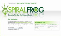 SpiralFrog signs deal with Warner/Chappel Music
