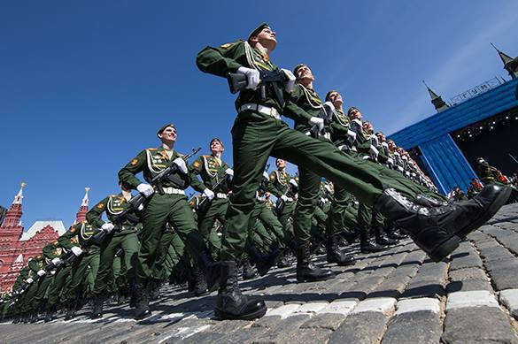 Russians think of Russian Army as one of world's best. Russian Army