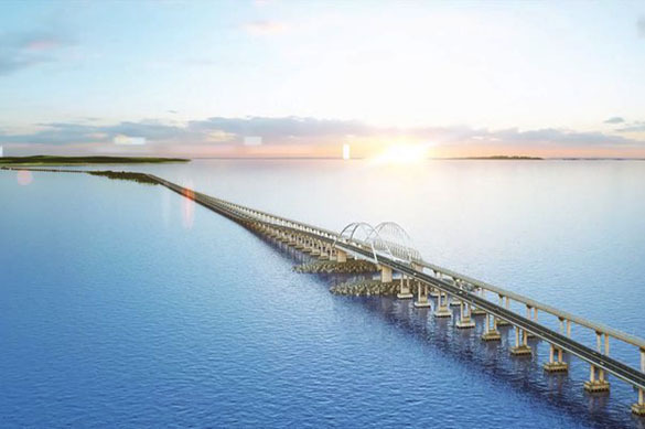 Ukraine harbors plans to destroy Russia's super bridge to Crimea. 60587.jpeg