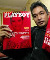 Indonesian Playboy trial closed to public, angering Islamic hard-liners