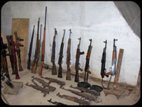 Teenager confesses to illegally collecting weapons