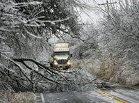 Ice storm leaves million of customers without electricity