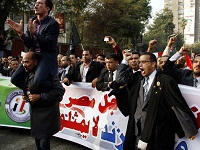 Supporters of Egyptian president Mursi call for protests. 50590.jpeg