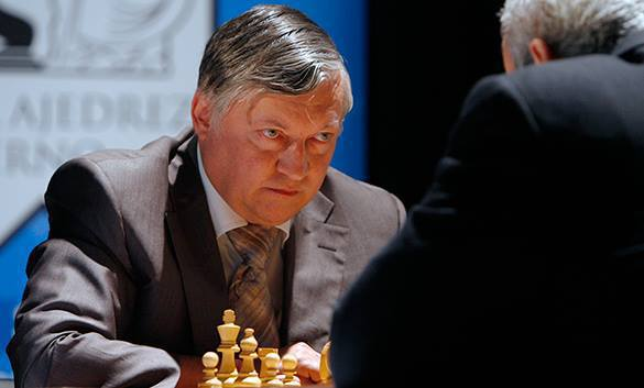Anatoly Karpov: History is not a game of chess. Anatoly Karpov