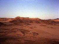 Sinai desert is full of bombs and mines