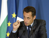 Sarkozy: war could spark between Iran, Israel