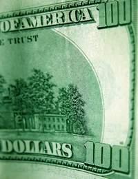 Dollar falls again