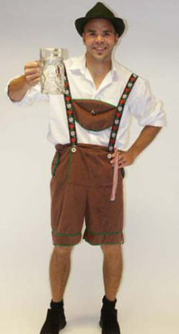 Austrian designer sells lederhosen for thousands EURO