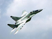 Russian MiG-29 Jets 'Attack' China in Myanmar