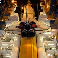Shuttle in a hurry to space station, now and in future