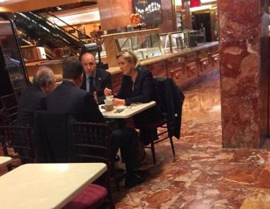 France's future president spotted in Trump Tower. 59594.jpeg