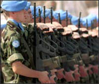 U.N. Peacekeepers allowed to defend themselves but not fight