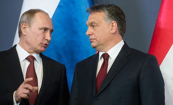 Russia and Hungary: Something to talk about. Vladimir Putin and Viktor Orban