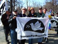 Anti-war veterans arrested in Boston