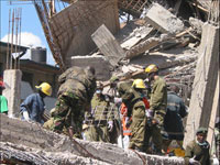 Five-Storey Building Collapses in Bangladesh Killing at least 14