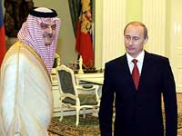 Putin set to meet Saudi and Russian businessmen