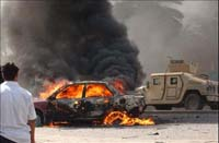 Seven killed by suicide car bomb explosion in Iraq