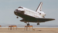 Weather hampers shuttle to land at Kennedy Space Center
