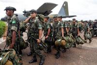 Brazilian troops will stay in Haiti