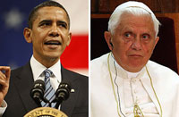 Obama and Benedict XVI to hold their first meeting